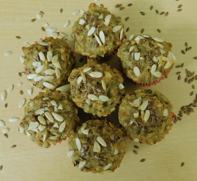 banana oats muffin, eggless